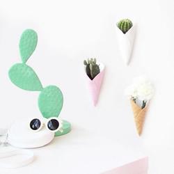 自制蛋卷冰淇淋花盆 软陶花盆DIY制作教程