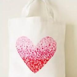 创意手绘包DIY图解 简单手绘手提袋制作教程