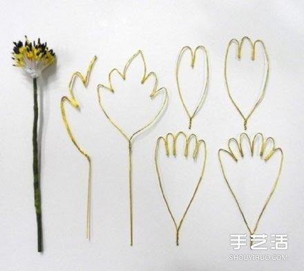 艷麗絲網花製作教程 手工絲襪花盆景DIY圖解
