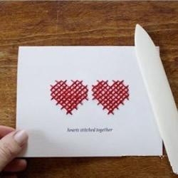 情人节爱心卡片制作方法 创意爱心卡片DIY教程