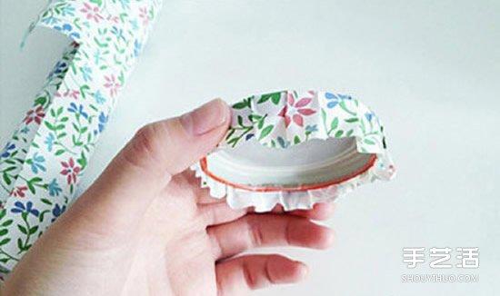 玻璃罐廢物利用小製作 立馬變身小清新收納罐
