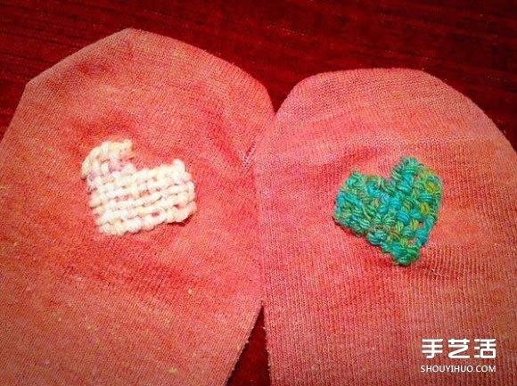一雙襪子穿20年!舊襪子也能補出新氣象哦!