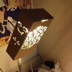 纸箱废物利用DIY灯罩 纸箱灯罩手工制作教程