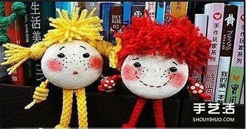 可爱布偶娃娃手工制作 DIY布娃娃制作方法 -  www.shouyihuo.com