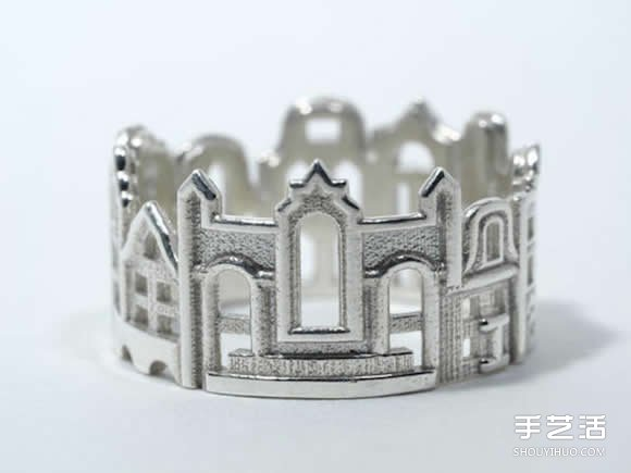 純手工製作戒指 一手掌握世界各地的建築之美
