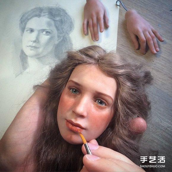 刻画你内心对人偶的恐惧 骇人逼真的手工娃娃 -  www.shouyihuo.com