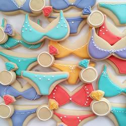 热爱色彩与甜食的她 创作出梦幻系翻糖饼