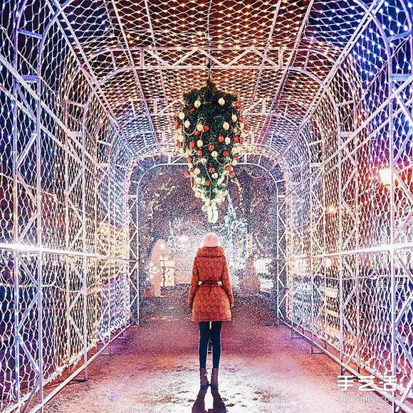 宛如北國仙境的莫斯科 呈現出夢幻的童話氛圍