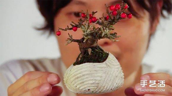 你肯定沒見過!AIR Bonsai 漂浮系日式盆景