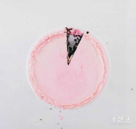Pink Love:为情人手作一份甜蜜的粉红色蛋糕