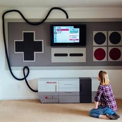 电玩宅老爸:把儿童房改造成任天堂游戏机!
