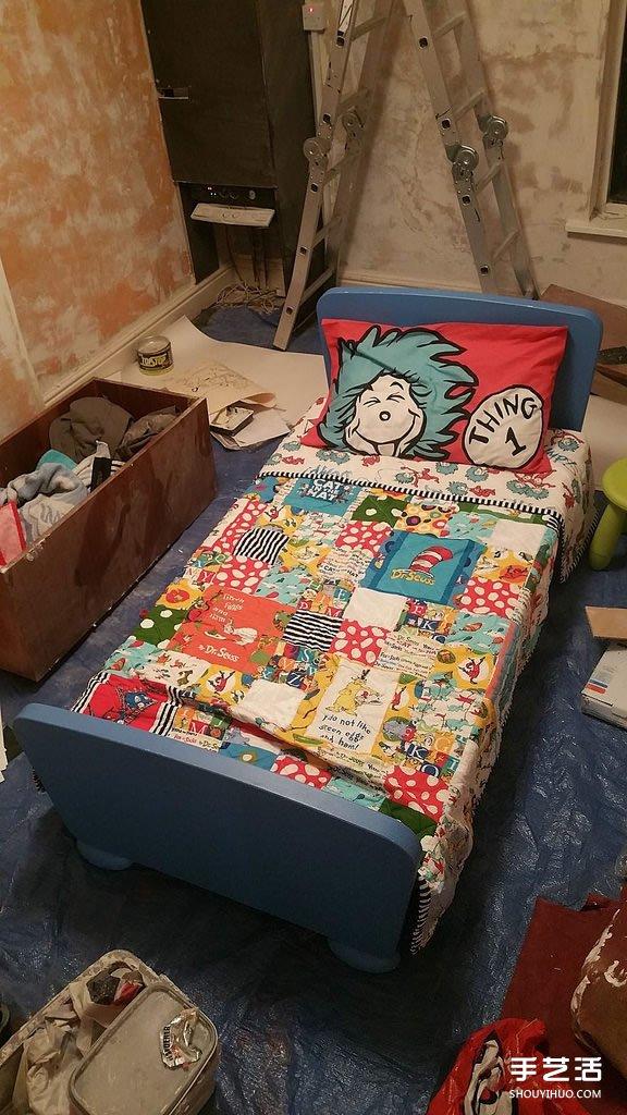 有着超感人故事背景的90個童話彩繪兒童房!