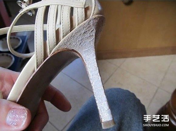 高跟鞋鞋跟手工改造DIY 讓它恢復往日光彩