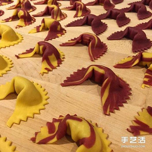 另类艺术之路:把意大利面条变得有趣又有型
