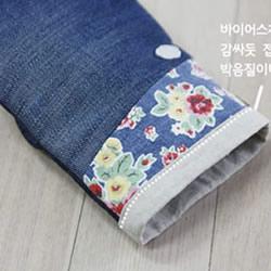 旧牛仔裤改造再利用 DIY制作漂亮的烘焙手套