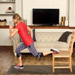 一张椅子就好!10个动作轻松摆脱节后臃肿身材
