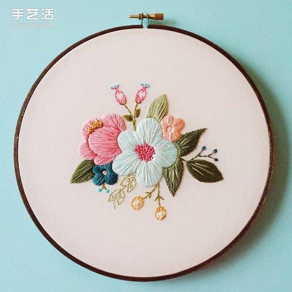 大自然之美:艺术家的精致刺绣把春天留下来 -  www.shouyihuo.com