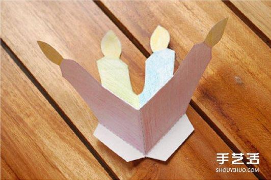 创意手工生日卡片_怎么做立体生日贺卡 立体生日贺卡的制作方法_手艺活网