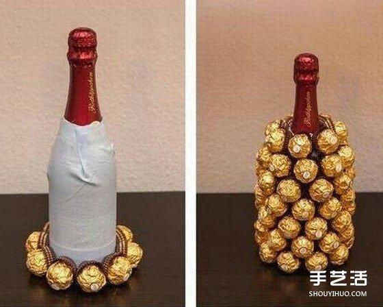 自製金莎鳳梨紅酒的方法 簡單又有創意的禮物