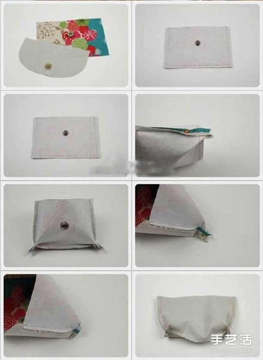 布藝手包製作步驟教程 女生手包DIY方法圖解