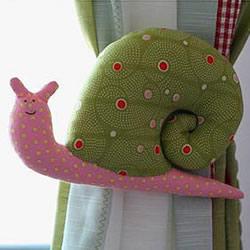 不织布蜗牛DIY教程 布艺蜗牛玩具手工制作