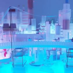 一万个无印良品商品DIY制作出东京城市模