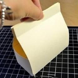 折纸盒子制作图解 纸盒子怎么折方法带展