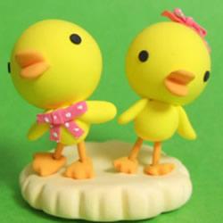 手工制作粘土小鸭子 小鸭子用粘土做的方法