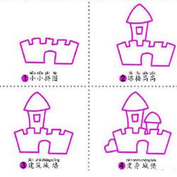 9个简单又有趣的建筑物简笔画的画法