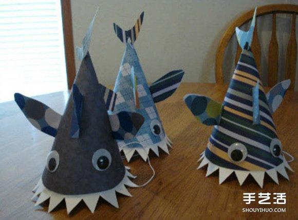 儿童手工制作军帽教程-儿童手工制作军帽
