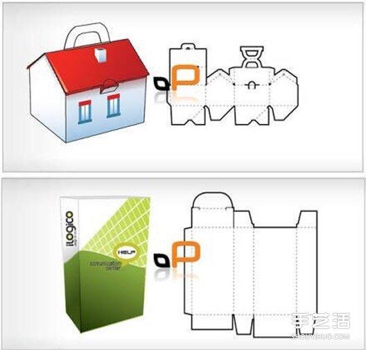 18种手工折纸包装纸盒的折法带打印图纸 -  www.shouyihuo.com