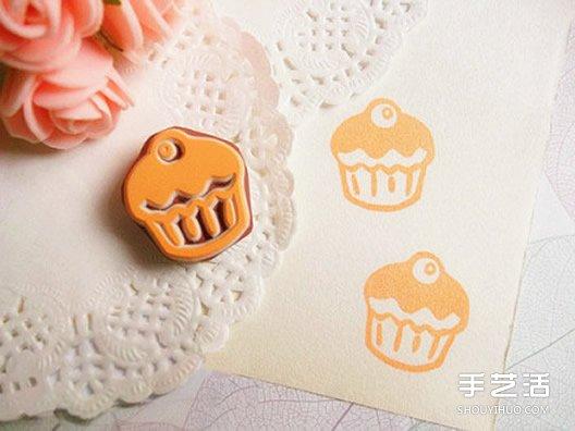 可爱又简单易做的橡皮图章图案 新手快收起~ -  www.shouyihuo.com
