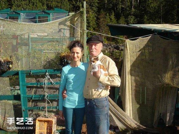 这对情侣花25年 打造了一座自给自足的小岛 -  www.shouyihuo.com