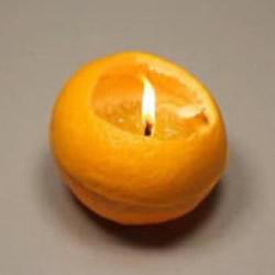 橙子灯的做法图片 橙子制作小夜灯的方法