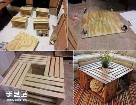 废物利用创意家居图解 旧物改造的创意生活 -  www.shouyihuo.com