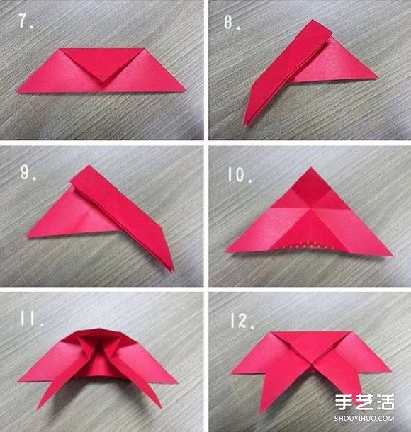 动物身上的花纹_如何手工折纸蝴蝶 纸蝴蝶的折法步骤图解_手艺活网