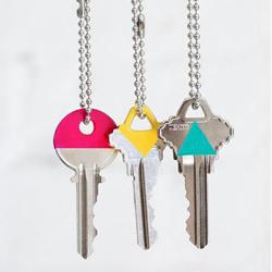 钥匙美化手工小制作 用指甲油让钥匙变漂