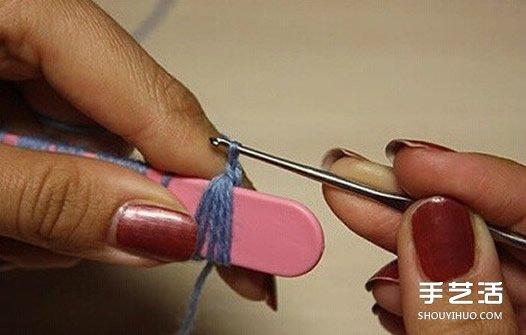 廢棄的冰棒棍也能變成鉤針編織的好用道具