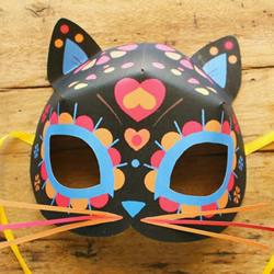 猫面具怎么制作的教程 猫脸面具制作过程图解