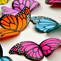 剪纸蝴蝶剪法步骤图解 简单儿童剪纸蝴蝶