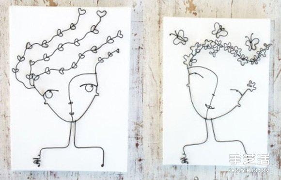 創意鐵藝畫作品圖片欣賞 展現另類鐵藝藝術