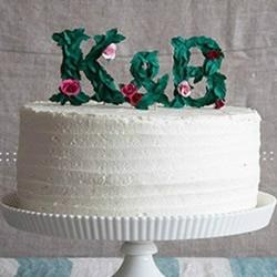 剪纸制作生日蛋糕装饰立体文字的方法图