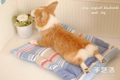 超細膩的羊毛氈動物圖片 根本就是有生命啊!
