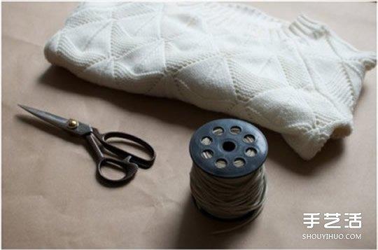 舊毛衣改造圖解 DIY流蘇讓毛衣變得時尚好看