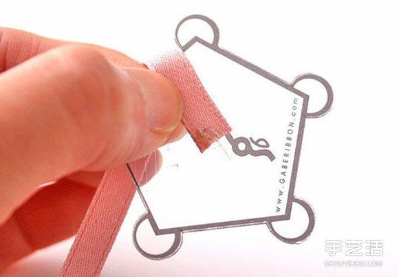 可愛緞帶花手工製作 裝飾到發箍很適合小女生