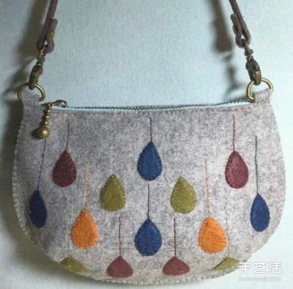 不織布挎包教程 簡單實用布藝挎包製作圖解
