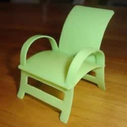 洗��精瓶子�U物利用DIY制作迷你椅子模型