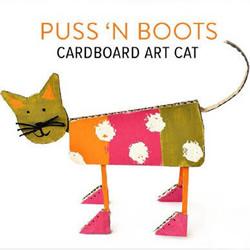 站立的小猫手工制作 幼儿制作小猫的方法