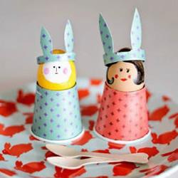一次性纸杯制作小人的方法 纸杯人偶手工
