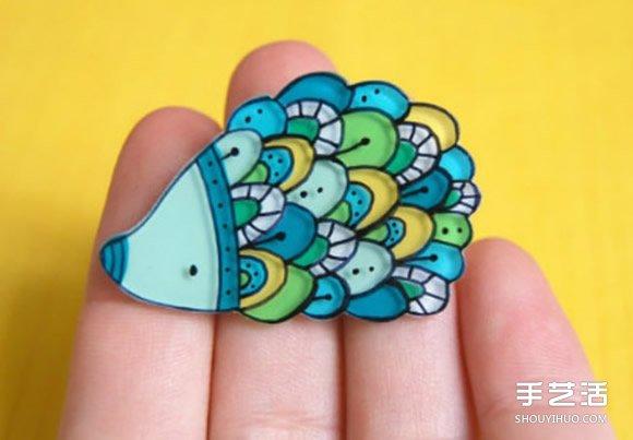 樹脂飾品作品圖片 可愛精美的手工藝品